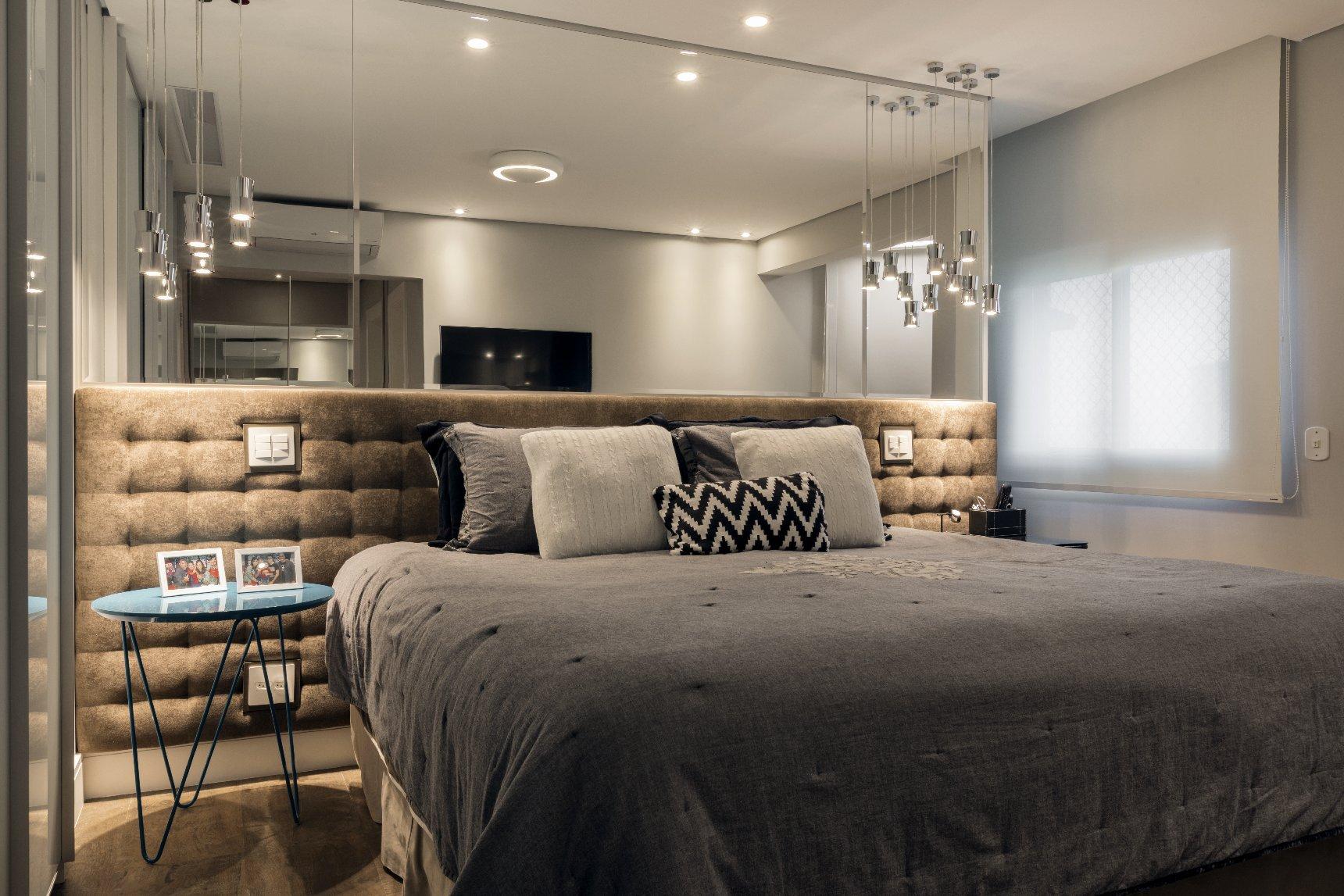 Quarto Casal Apartamento Urbano Decoradora Glaucya Taraskevicius  ~ Decoração Quarto Casal Apartamento